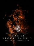 Flames Stock Pack 2 by Hutzon