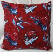 Spiderman Pillow 2 by quiltoni