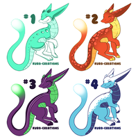 Litzard Batch: OPEN [Points and Paypal!!] by Kuro-Creations