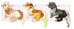Rexerius Adoptables AUCTION! CLOSED by Nanarui
