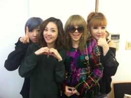 2ne1 fighting by snowflakeVIP
