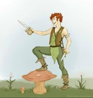 Peter Pan by kellanrenee