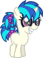 Young Vinyl Scratch by StarryOak