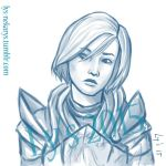 A quick femshep by Ly-s