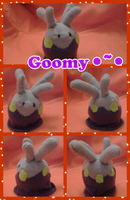 Goomy Plush~ by MrReshi