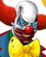 STEPHEN KING'S IT detail by MalevolentNate
