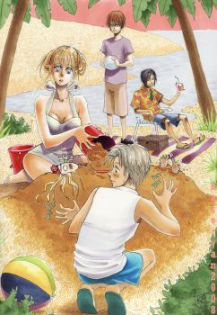 Honey and Clover Sweet Holiday by blammogirl