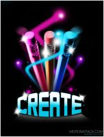 Create Poster by motion-attack