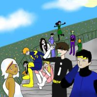 LoSH: Sunday outing at the park by littlehobbitdancer