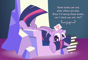 A Book Horse Valentine by dm29