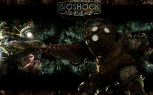 Bioshock - Wallpaper by MarvelousMark