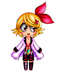 Kagamine Rin by SisterOfBlood