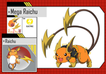 Mega Raichu by RaiZhuW-The-Real