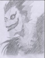 Ryuk : Death Note. by rainbows-and-stars
