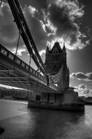 Under the London Tower bridge by Yupa