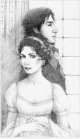 Pride and Prejudice - pencil by ellaine