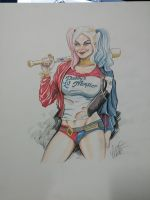 HArley from Suicide Squad Commission by jeffzombie37