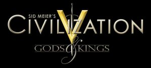 Civilization V: Gods and Kings Custom Logo by sukritact