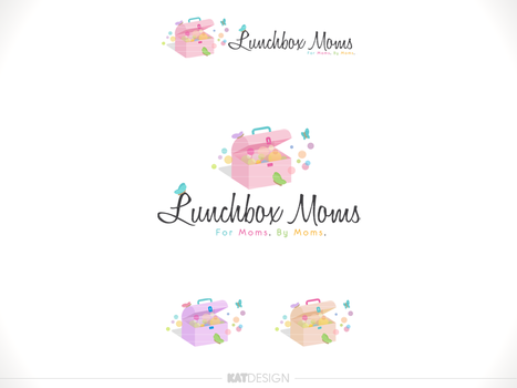 Lunchbox Moms LOGO by Moskikat