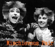 Edited Image: Mischievous Pair by musicgal3