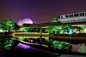 Reflections of Spaceship Earth by shaderf