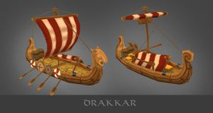 Drakkar Viking by AntonioNeves