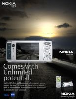 Nokia N95-Magazine Ad in color by Cj-Caty