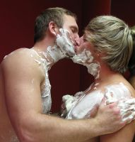 Soapy Kiss by danthedanimal