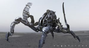 Invasion of chaos_ process 2 by angelitoon