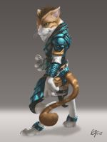 Battle Cat by Emortal982