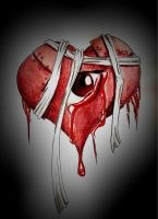 Wounded heart by adobeekookyz
