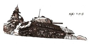 M4A3E8 by TimSlorsky