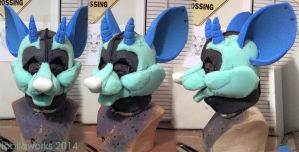 Draenard Foam Head by LobitaWorks