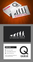 Queue Business Card by KaixerGroup