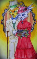 Baron Humbert Von Gikkingen and Louise by Kharen94th