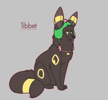 Tibbet the Umbreon by Tinnypants