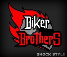 biker brothers _logo by shockstyle