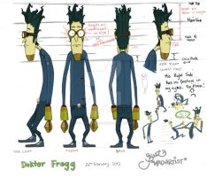 Character Sheet Doktor Frogg by Doks-Assistant