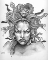 Medusa sketch by frankieserna