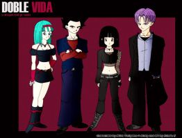 "DBGT ""Doble Vida"" Fanart by Crazygirlx"