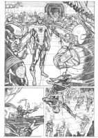 spidey vs the shield page 1 by 0mi