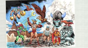 Heroses of Pre-Eternia by danbrenus