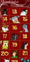 Fox's Advent Calender by FoxOfBrokenHearts