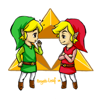 Legend of Zelda: Toon Link ~Identical~ by Angels-Leaf