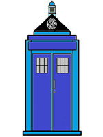 Professor's TARDIS exterior final design by DoctorWhovian12345