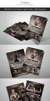 Premium Fitness Flyers by hoanggiang12