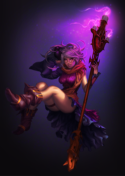 Twilight Mage by Pirate-Cashoo