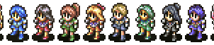 Sailor Soldier Sprites by Humble-Novice