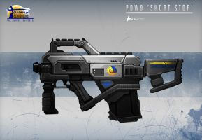 PS2 Submachine gun by Hazzard65