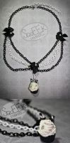 Cupcake Noir Necklace by squeekaboo